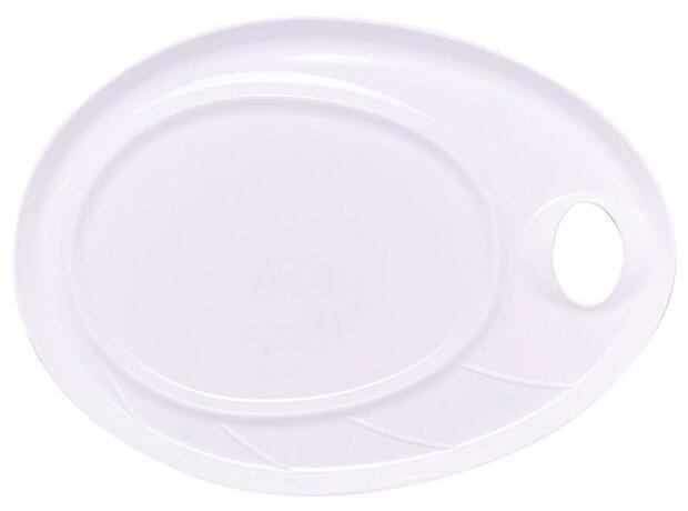 Палитра Малевичъ пластиковая для акриловых красок 43х31 см