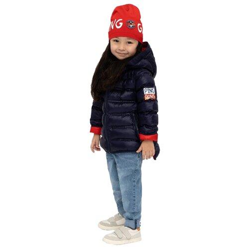 Купить Куртка Gulliver 12003GMC4102 размер 128, синий, Куртки и пуховики