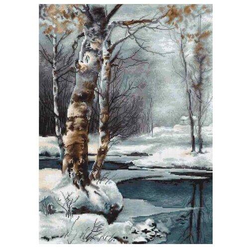 Купить Luca-S Набор для вышивания Зима, 22 х 30.5 см, G560, Наборы для вышивания