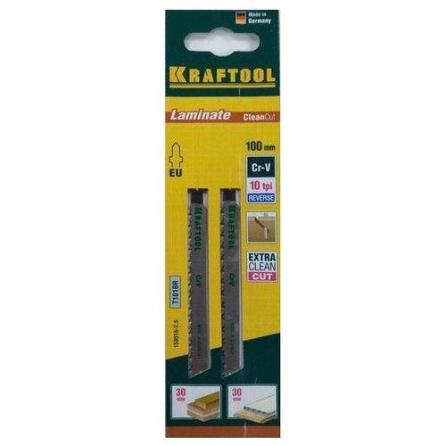 Набор пилок для лобзика Kraftool 159516-2,5 2 шт. набор пилок для лобзика kraftool 159522 4 2 шт