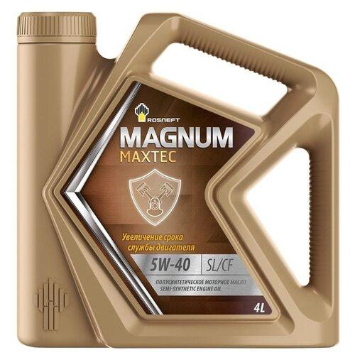Фото - Моторное масло Роснефть Magnum Maxtec 5W-40 4 л rosneft масло моторное rosneft magnum maxtec 5w40 5л