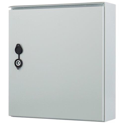 Щит учетно-распределительный IEK MKM51-N-09-54 навесной, металл, модулей 12 серый