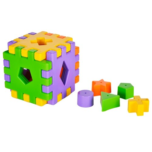 цена Сортер Жирафики Кубики онлайн в 2017 году