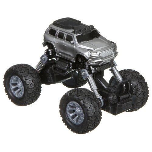 Купить Монстр-трак BONDIBON Парк техники (ВВ4577) серый, Машинки и техника