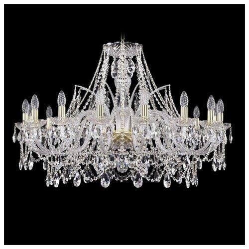 Люстра Bohemia Ivele Crystal 1411 1411/16/360/G, E14, 640 Вт bohemia ivele crystal подвесная люстра 1411 12 380 72 g