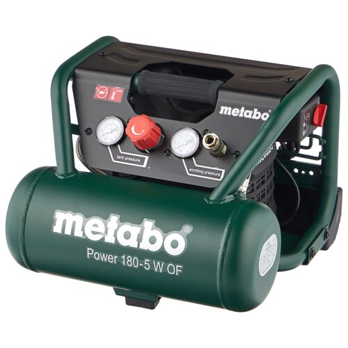 цена на Компрессор безмасляный Metabo Power 180-5 W OF, 5 л, 1.1 кВт