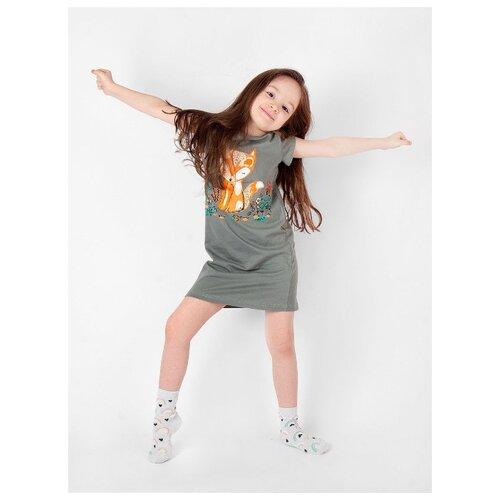 Купить Сорочка RICH LINE размер 128, хаки, Домашняя одежда