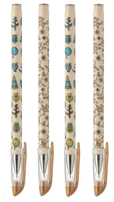 Стоит ли покупать Комплект из 4-х шариковых ручек KBPSW-67-06.1P,синяя паста - 1 отзыв на Яндекс.Маркете