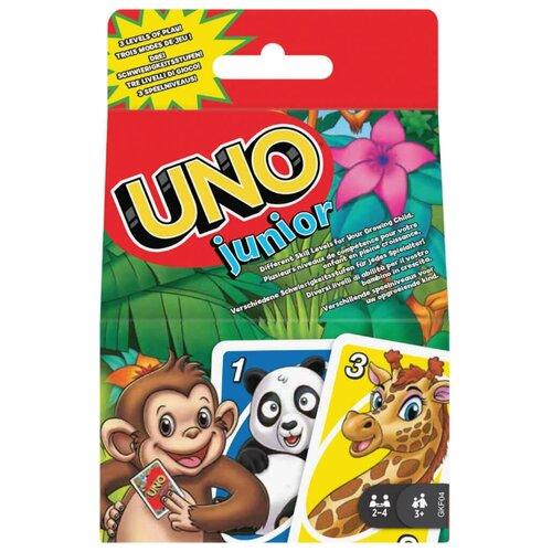 Фото - Настольная игра Mattel Uno Junior GKF04 настольная игра mattel uno w2087