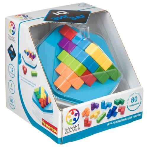 Купить Головоломка BONDIBON Smart Games IQ-Зигзаг (ВВ4678) голубой, Головоломки