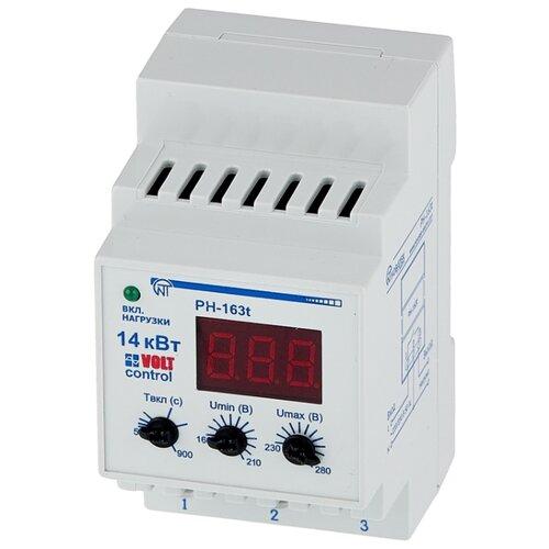 Фото - Реле контроля напряжения Новатек-Электро РН-163Т реле контроля напряжения новатек электро убз 301 10 100a