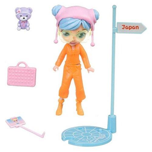 Купить Игровой набор Bondibon куколка OLY путешественница, 11.5 см, BB4316, Куклы и пупсы