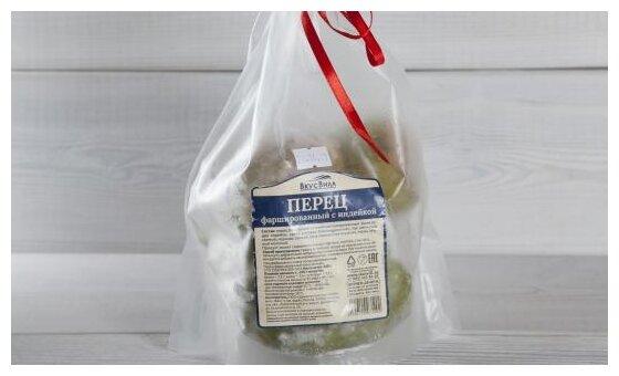ВкусВилл Замороженный фаршированный перец с индейкой 600 г