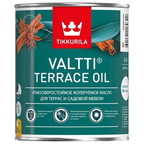 Масло Tikkurila Valtti Terrace Oil, бесцветное, 0.9 л