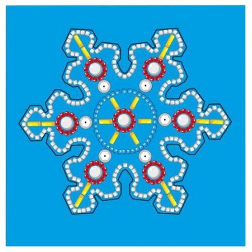 Купить Рыжий кот Набор для вышивания бисером Ёлочная игрушка Волшебная снежинка (НШ-1203), Наборы для вышивания
