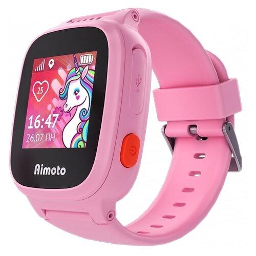 Детские умные часы c GPS Aimoto Единорог розовый