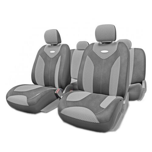 цена на Комплект чехлов AUTOPROFI MTX-1105G темно-серый/светло-серый S