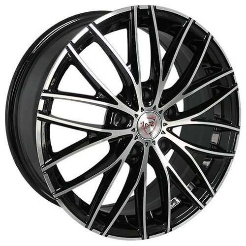 Фото - Колесный диск NZ Wheels F-28 6.5x16/4x98 D58.6 ET38 BKF колесный диск nz wheels sh675 6 5x16 4x98 d58 6 et38 bkf
