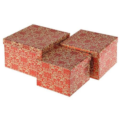 Фото - Набор подарочных коробок Shantou Chengxing Craft Product Орнамент, 3 шт красный набор подарочных коробок tai an baoli paper product co ltd фауна 17 шт желтый
