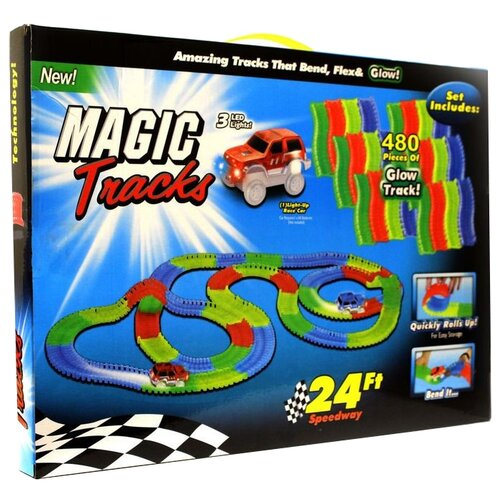 Купить Трек Magic Tracks гибкий (480 деталей), Детские треки и авторалли