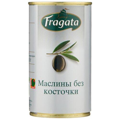 Fragata Маслины без косточки, жестяная банка 350 г corrado маслины крупные отборные без косточки 300 г