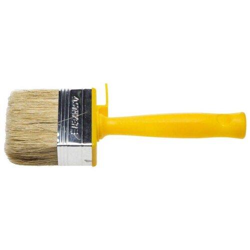 Кисть STAYER 0182-07, 70 мм, желтый кисть stayer 0187 11 110 мм черный