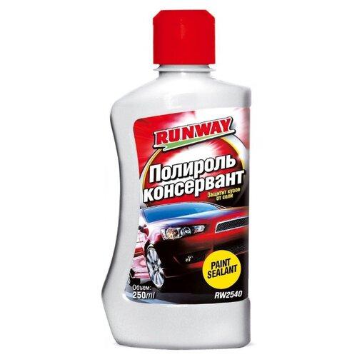 RUNWAY Полироль консервант для кузова Paint Sealant, 0.25 л