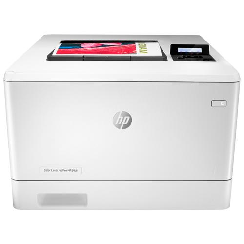 Фото - Принтер HP Color LaserJet Pro M454dn белый принтер hp laserjet pro m 501 dn j8h 61 a