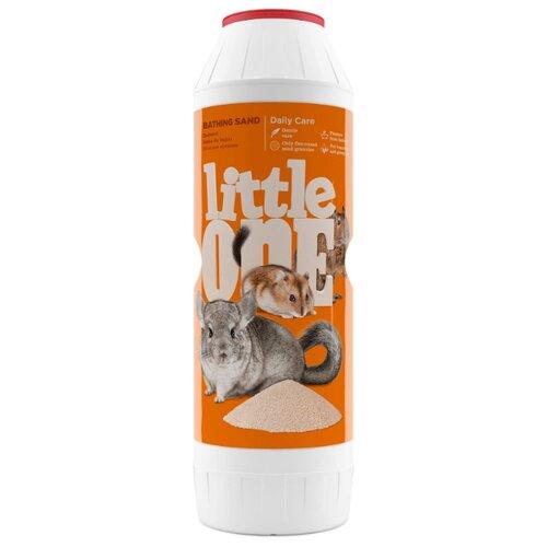 Песок Little One для купания шиншилл и других декоративных животных 1 кг