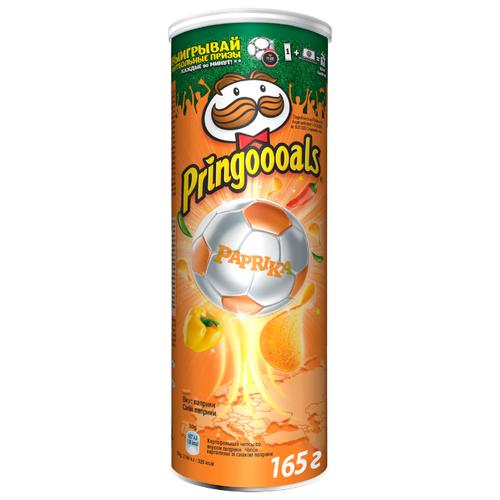 Чипсы Pringles картофельные Paprika, 165 г чипсы pringles картофельные crab 70 г