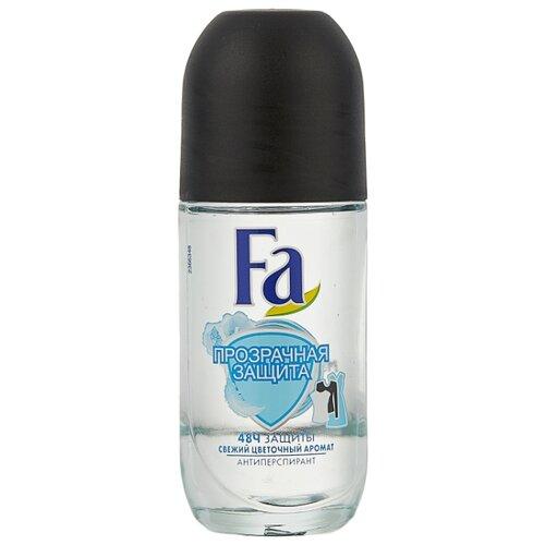 Антиперспирант ролик Fa Прозрачная защита Свежий цветочный аромат, 50 мл