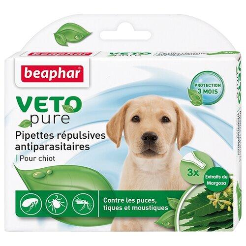 Beaphar капли от блох и клещей Veto pure для щенков