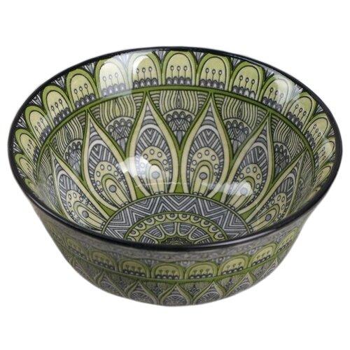 Фото - Доляна Салатник Мирсоле 3324302 12 см зеленый доляна салатник джавлон 12 см синий зеленый