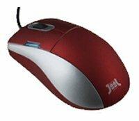 Мышь JiiL Trend Optical Mouse Red USB