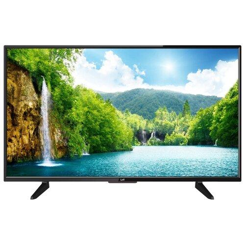 Фото - Телевизор Leff 39H110T 38.5 черный телевизор leff 55u610s 55 2020 на платформе яндекса черный