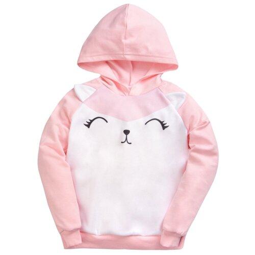 Купить Худи KotMarKot размер 116, розовый, Толстовки