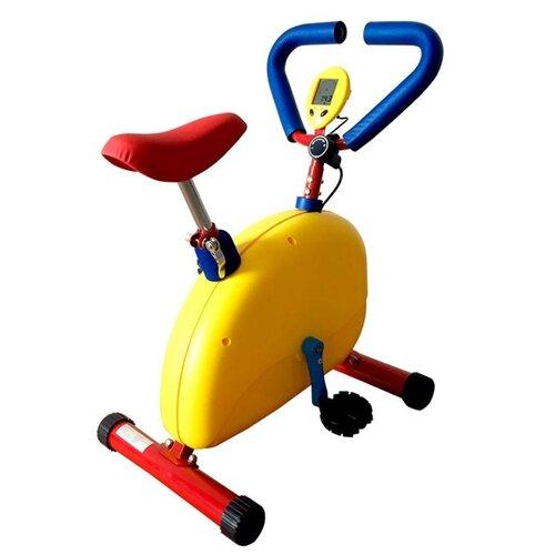 Фото - Вертикальный велотренажер DFC VT-2601 Желтый вертикальный велотренажер fitex pro u