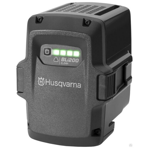 Аккумулятор Husqvarna BLi 200 Li-Ion 36 В 5.2 А·ч аккумулятор съемный husqvarna bli 100 9670918 01