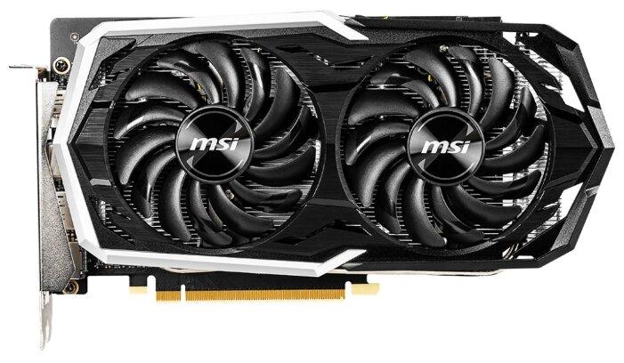 Видеокарта MSI GeForce GTX 1660 1845MHz PCI-E 3.0 6144MB 8000MHz 192 bit HDMI HDCP ARMOR OC