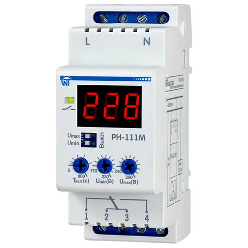 Реле контроля напряжения Новатек-Электро РН-111М