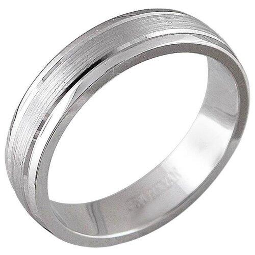 Эстет Кольцо из белой платины 01О090362, размер 20.5 ЭСТЕТ