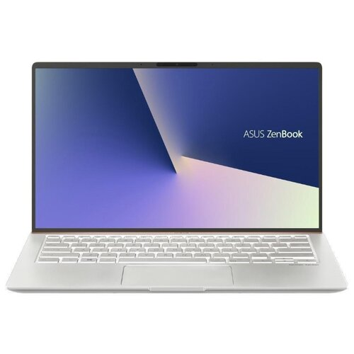 Фото - Ноутбук ASUS ZenBook 14 UX433FN-A5358T (Intel Core i5 8265U 1600MHz/14/1920x1080/8GB/512GB SSD/DVD нет/NVIDIA GeForce MX150 2GB/Wi-Fi/Bluetooth/Windows 10 Home) 90NB0JQ4-M12590 icicle silver ноутбук asus zenbook ux333fn a3110t core i7 8565u 8gb ssd512gb nvidia geforce mx150 2gb 13 3 fhd 1920x1080 windows 10 silver wifi bt cam bag