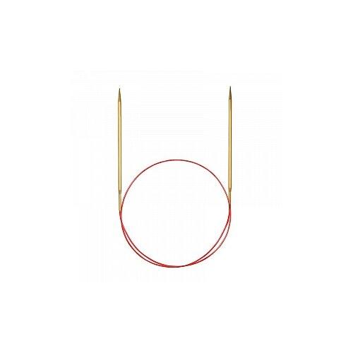 Купить Спицы круговые позолоченные с удлиненным кончиком, №3, 50 см, ADDI