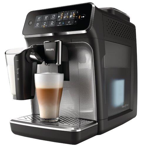 Кофемашина Philips EP3246/70 Series 3200 LatteGo черный/серебристый кофемашина автоматическая philips ep 5030 10 series 5000 lattego
