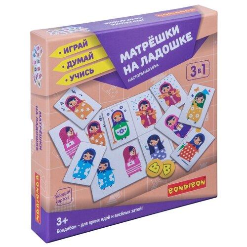 Настольная игра BONDIBON Матрёшки на ладошке