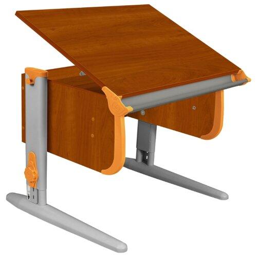 Купить Стол ДЭМИ СУТ-24 75x55 см яблоня/оранжевый/серый, Парты и столы