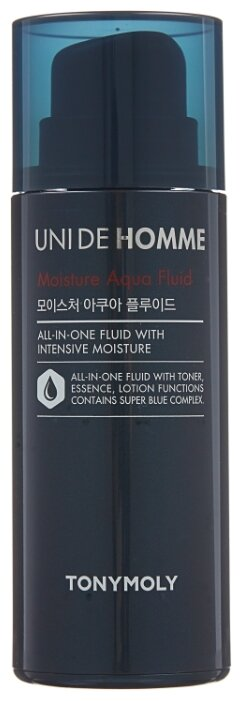 TONY MOLY Флюид для лица Uni De Homme Moisture Aqua Fluid
