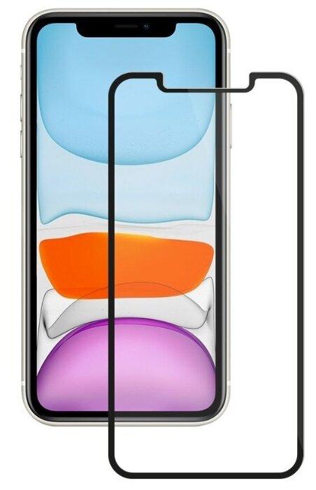 Защитное стекло Deppa 2.5D Full Glue для iPhone XR/11 черный фото 1