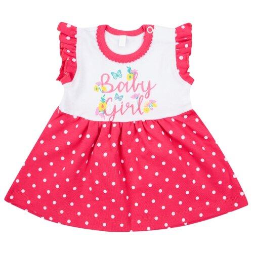 Платье-боди Leader Kids размер 86, розовый