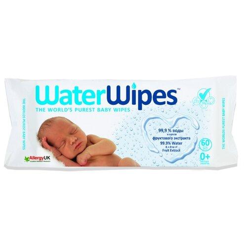 Купить Влажные салфетки WaterWipes Детские с фруктовым экстрактом 60 шт.